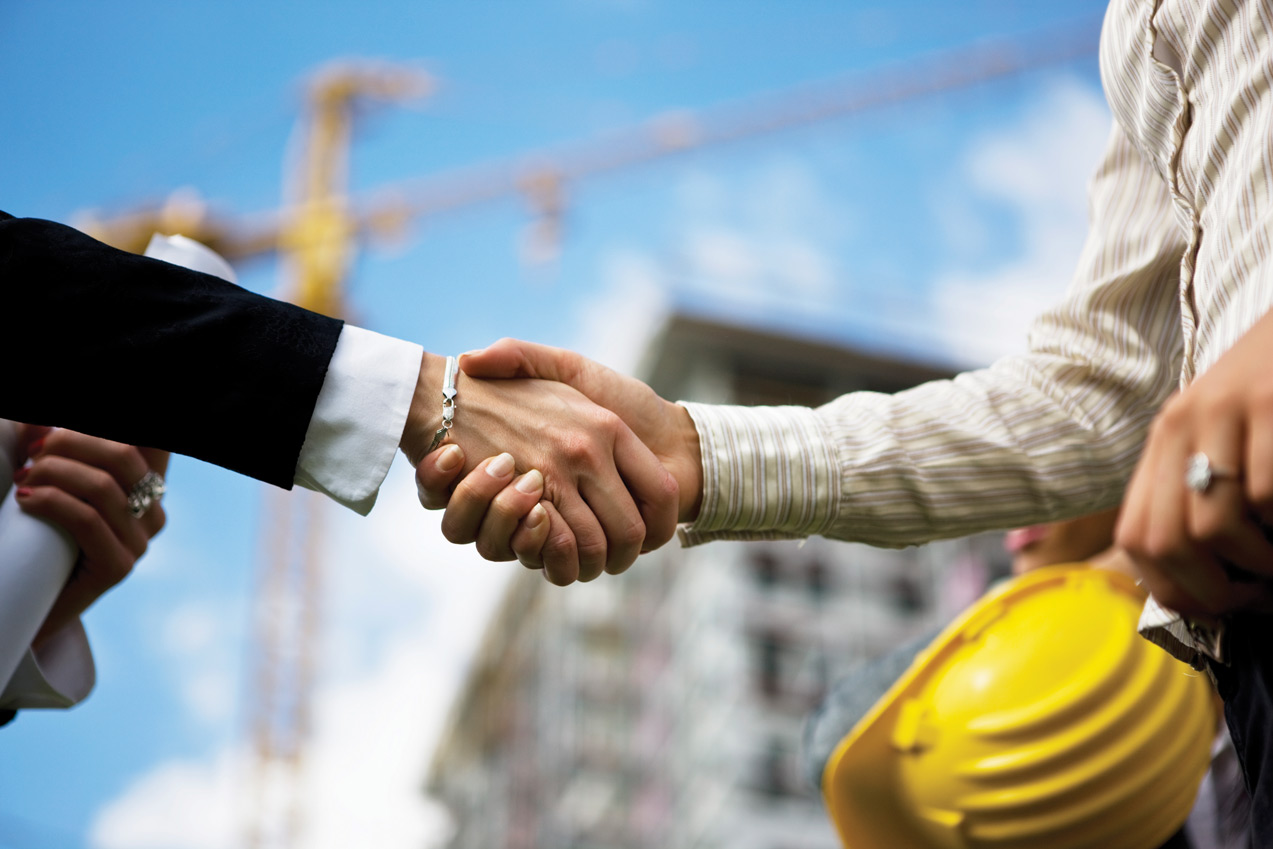 Shake-Hands-Construction-Site